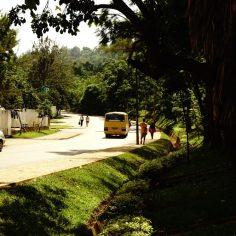 Auf den Straßen von Kigali, Ruanda.