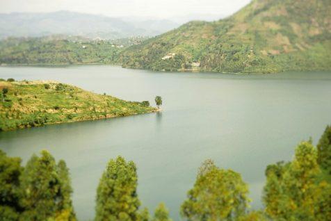 Lake Kivu in Karongi, Rwanda.